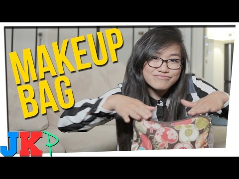 what's in my makeup bag ft. julia chow cp fun & music