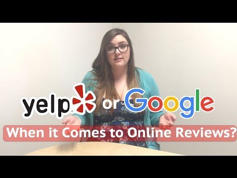 Should Property Managers Focus on Yelp or Google for Online Reviews?
