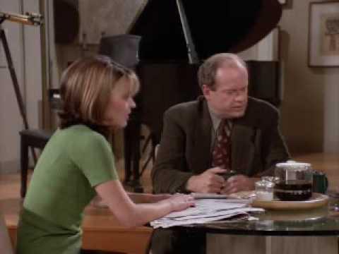 Frasier cuarta temporada capitulo 1 LAS DOS SEÑORAS CRANE 1/3 (Audio Latino)