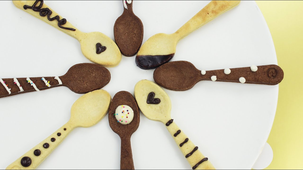 How to Make Shortbread Spoon Cookies! - YouTube