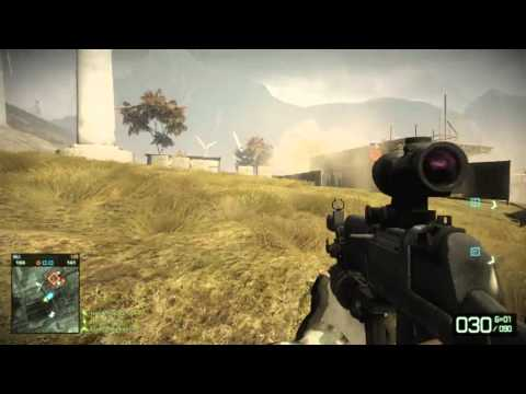 Battlefield Bad Company 2 Multiplayer Gameplay
