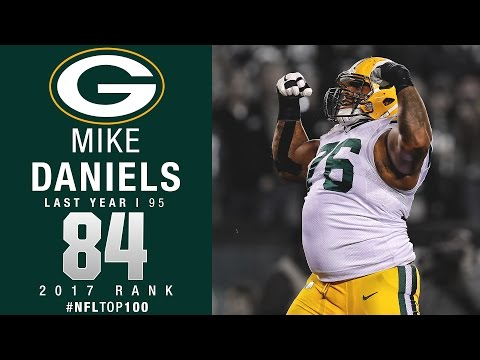 84: Mike Daniels DT Packers  Top 100 Players of   NFL
