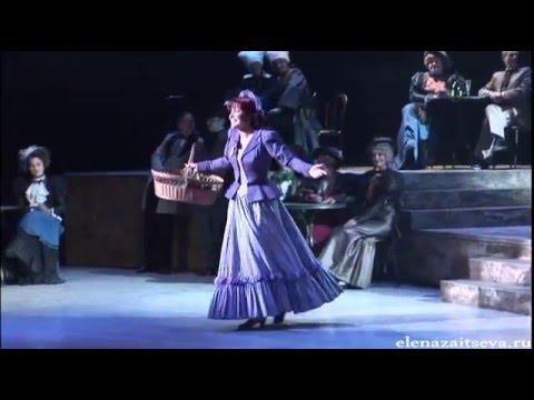 """И. Кальман. Оперетта """"Фиалка Монмартра"""". Выходная ария Виолетты.- Е. Зайцева"""