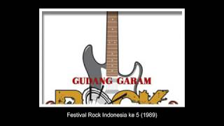 Festival Rock Indonesia ke 5 1989