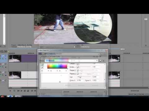 Как сделать снег на видео в сони вегас