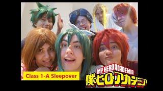 BNHA Cosplay - Class 1-A Sleepover