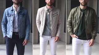 6 Ways To Style Lightweight Jackets This Spring