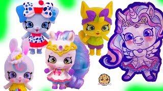 Fuzzy Shoppet Petkins Shopkins Pets Season 9 Wild Style Toys + Surprise Blind Bags