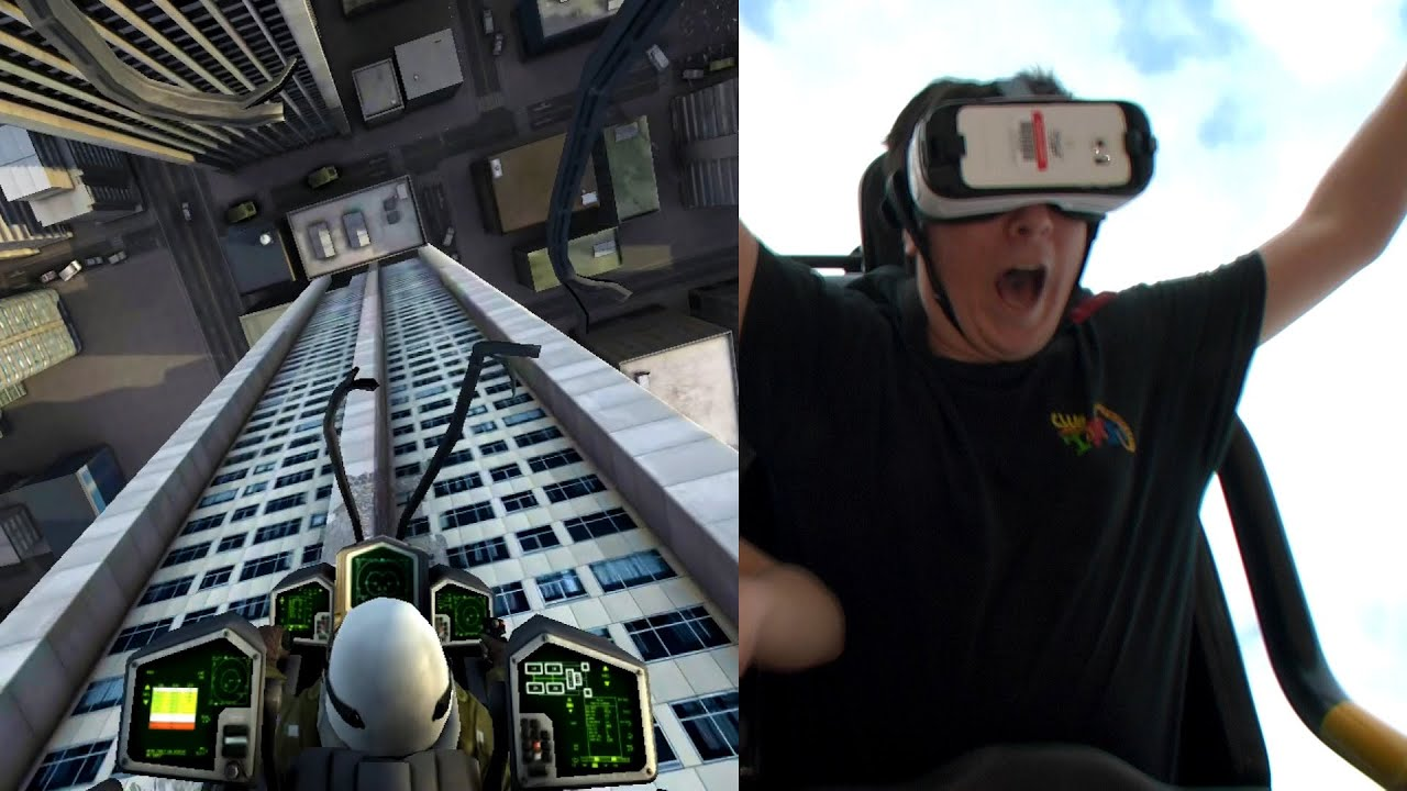 [Proof Virtual Reality Rollercoasters Are The Future In Theme Park Entertainment] Video
