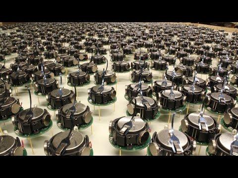 Harvard Unleashes Swarm of Robots