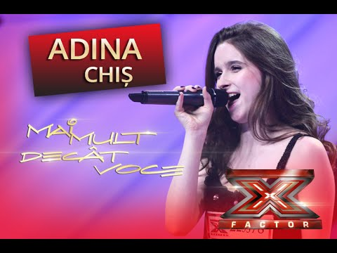 Nicki Minaj - super Bass. Interpretarea Adinei Chiş, La X Factor! video