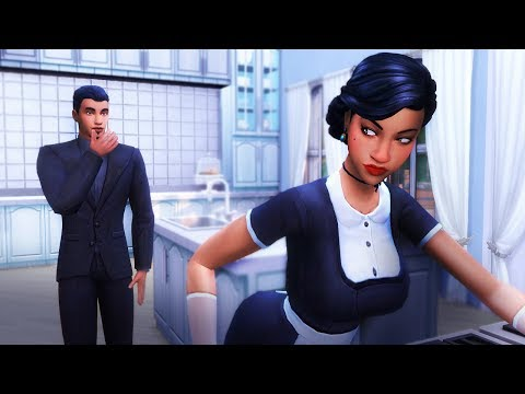 AFFAIR WITH THE MAID | Sims 4 Story