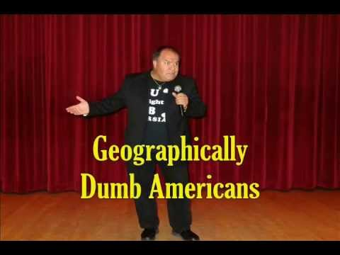 ESLAM The Comic (Geography Dumb Americans) - ENGLISH