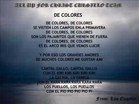 DE COLORES Video