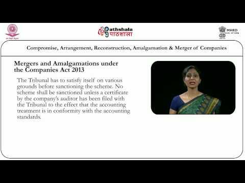 Compromises, arrangements, reconstruction, amalgamation and mergers of companies (Law)