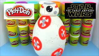 Star Wars BB8 Giant Play Doh Surprise egg
