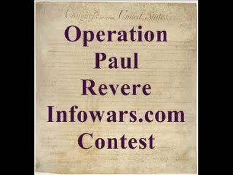 Operation Paul Revere Infowarscom Contest movie