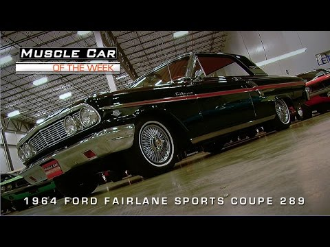 Muscle Car Of The Week Video #66: 1964 Ford Fairlane Sports Coupe K-Co