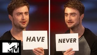 Daniel Radcliffe Plays Never Have I Ever | MTV Movies