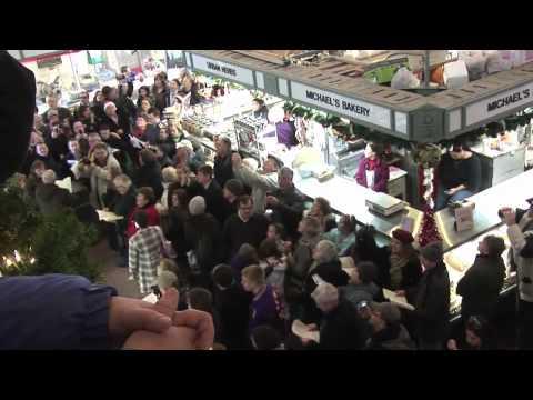 West Side Market Hallelujah Chorus Flash Mob - Cleveland, Ohio