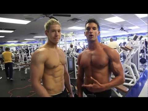 Hampton Male Model Flexing Pec Bounce Fitness Tips