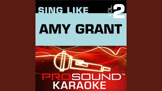 Love Has A Hold On Me (Karaoke with Background Vocals) (In the Style of Amy Grant)
