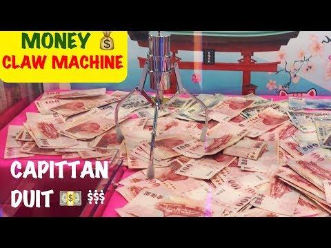 CAPIT DUIT   MONEY CLAW MACHINE $   夾娃娃