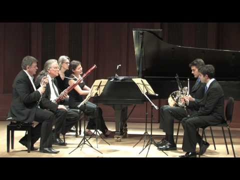 Camerata Pacifica  Beethoven, Quintet for Piano &amp; Winds, Op. 16, 2nd mvmnt..mp4