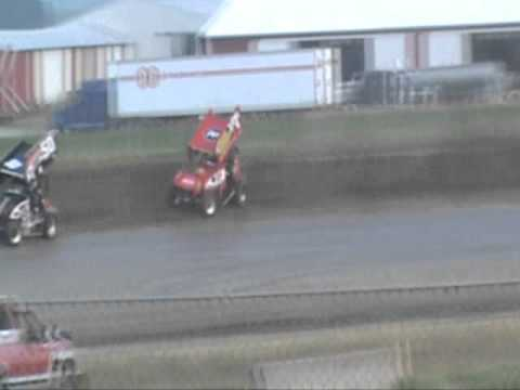 Nick Daugherty's heat race at Waynesfield 7.2.11