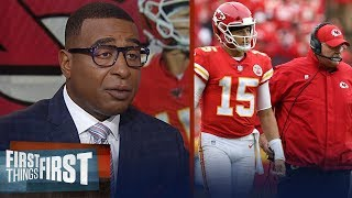 Cris Carter believes Chiefs biggest concern is Andy Reid, talks Eagles | NFL | FIRST THINGS FIRST