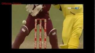 *UNPLAYABLE* Sunil Narine Carrom Ball/Doosra/Knuckle Ball To Clint McKay