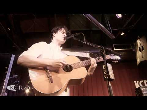 "Vampire Weekend performing ""Unbelievers"" Live on KCRW"