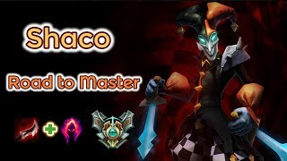 Shaco Jungle carry [League of Legends] Full Gameplay - Road to Master - Infernal Shaco