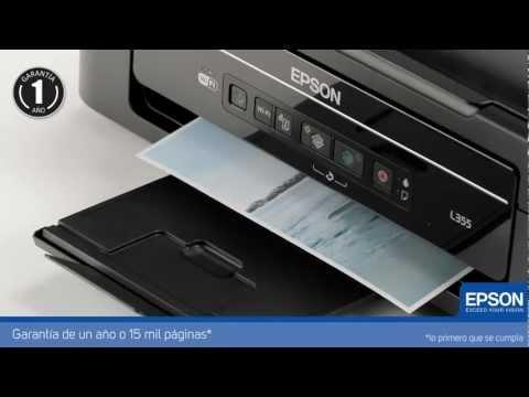 Impresora Multifuncional Epson L355 con Tanque de Tinta