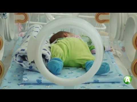 Как выхаживают недоношенных новорожденных в Костанае