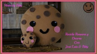 DIY - GALLETA KAWAII manualidades