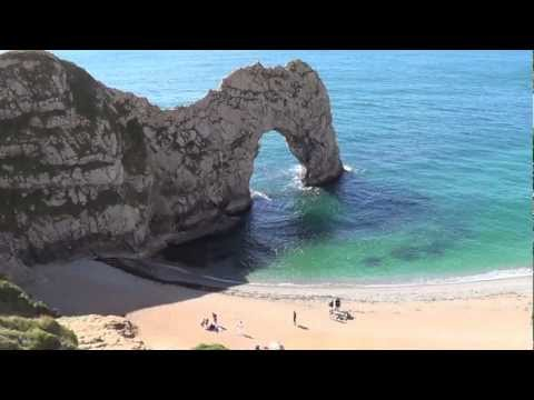 Durdle Door - Dorset, UK (Relaxing Music)