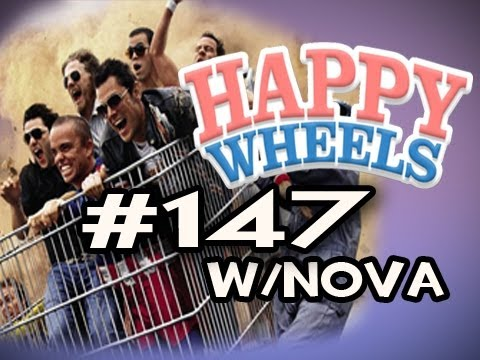 Happy Wheels w/Nova Ep.147 - JACKASS EDITION