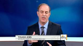 The Early Show - Tough Jobs_ New bio depicts complex CEO