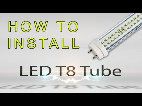2 how to change your t12 or t8 fluorescent fixture to. Black Bedroom Furniture Sets. Home Design Ideas