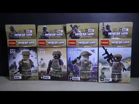 LEGO Swat Modern War Battlefield 4 DeCool Bootleg Review
