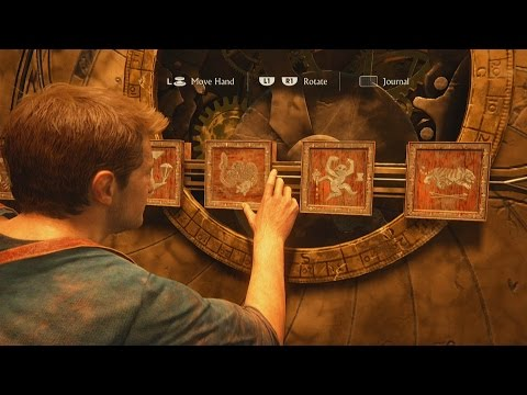 Uncharted 4 A Thief's End - Pirate Founders sigils : star pattern puzzle - Hidden in Plain Sight