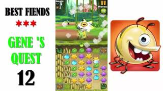 Best Fiends Gene Quest Level 12 - Walkthrough