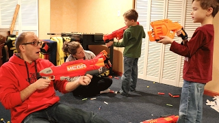 Nerf War:  Mail Time Mayhem 39