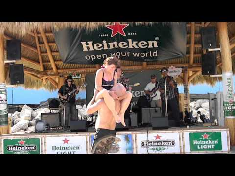 Rj Howson Chicago Blues Beach Bash With Crazy Dancers Tampa 2012