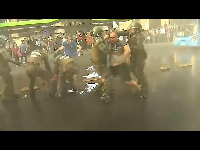 Protesters clash with police in Chile over education ruling
