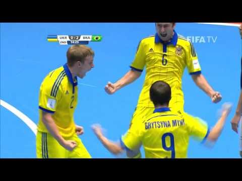 Match 7: Ukraine v Brazil - FIFA Futsal World Cup 2016