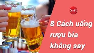 8 Cách uống rượu bia không say: Bí quyết bỏ túi bạn cần biết