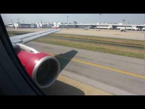 AirAsia (Airbus A320-200) Take Off In Bangkok