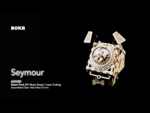 DIY Music Box AM480 Seymour by Robotime